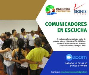 Actividades SIGNIS Perú 2021